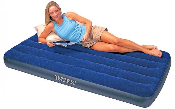 Какой надувной матрас лучше / Какой надувной матрас для сна лучше