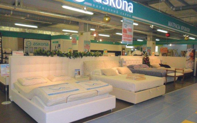 Магазин матрасов Askona в Санкт-Петербурге, ТРК Гранд Каньон