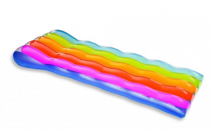 Надувной матрас для плавания Радуга (191*81см) Intex (58876
