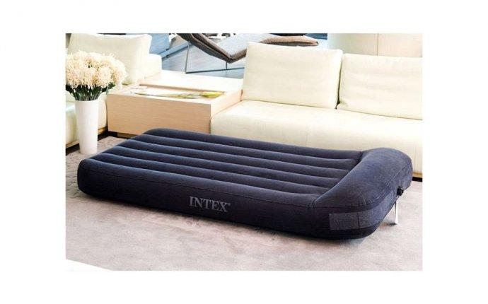 Односпальный надувной матрас INTEX Pillow Rest Classic Airbed
