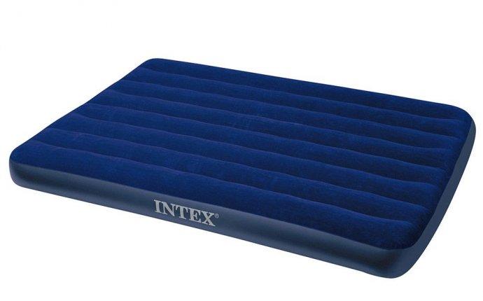 Полуторный надувной матрас Intex Classic Downy Bed (Full